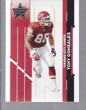 2006 Leaf Rookies and Stars #55 Tony Gonzalez