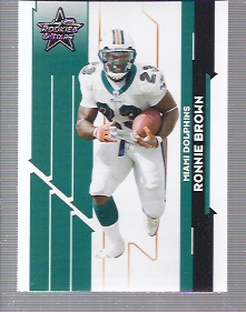 2006 Leaf Rookies and Stars #60 Ronnie Brown