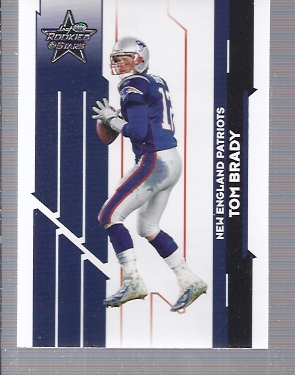 2006 Leaf Rookies and Stars #65 Tom Brady