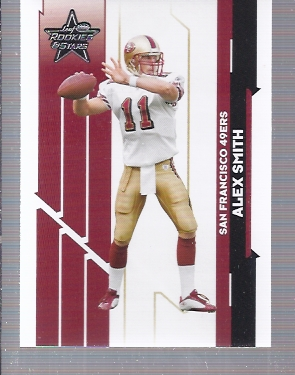 2006 Leaf Rookies and Stars #87 Alex Smith QB