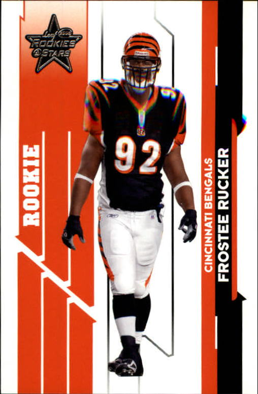 2006 Leaf Rookies and Stars #133 Frostee Rucker RC