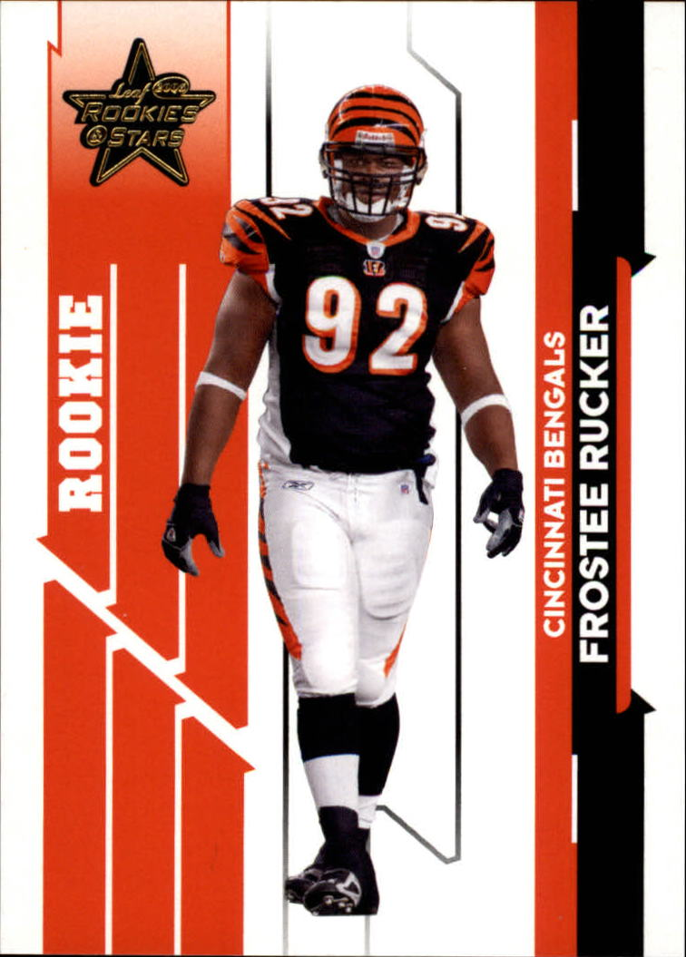 2006 Leaf Rookies and Stars Gold #133 Frostee Rucker