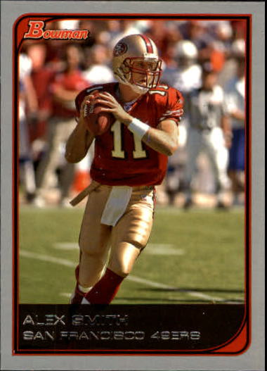 2006 Bowman #91 Alex Smith QB