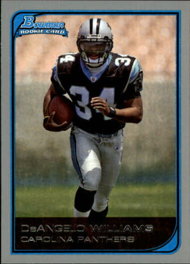 2006 Bowman #117 DeAngelo Williams RC
