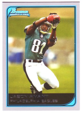 2006 Bowman #142 Jason Avant RC