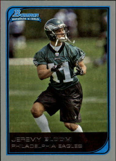 2006 Bowman #162 Jeremy Bloom RC