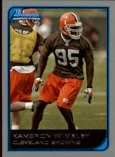 2006 Bowman #164 Kamerion Wimbley RC