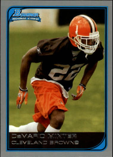 2006 Bowman #210 Demario Minter RC