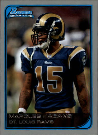 2006 Bowman #211 Marques Hagans RC