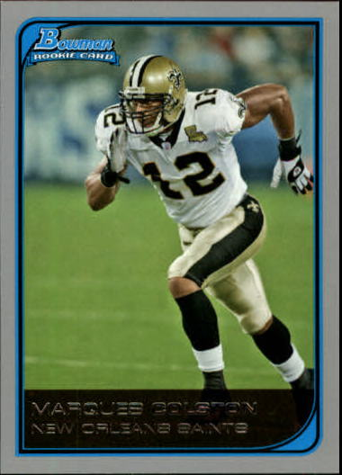 2006 Bowman #232 Marques Colston RC