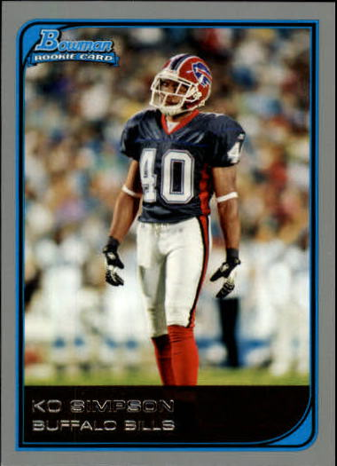 2006 Bowman #260 Ko Simpson RC