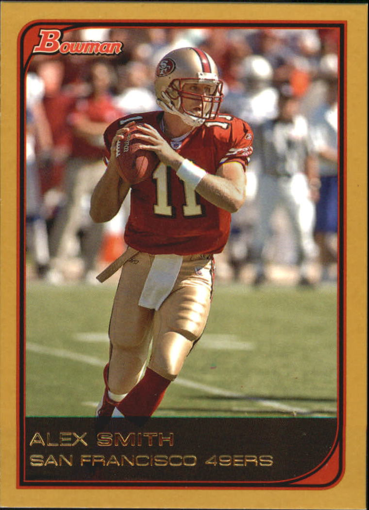 2006 Bowman Gold #91 Alex Smith QB