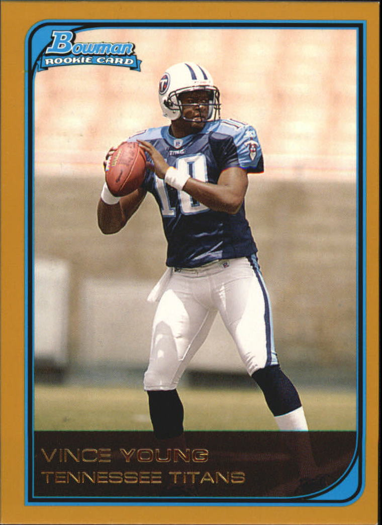 2006 Bowman Gold #113 Vince Young
