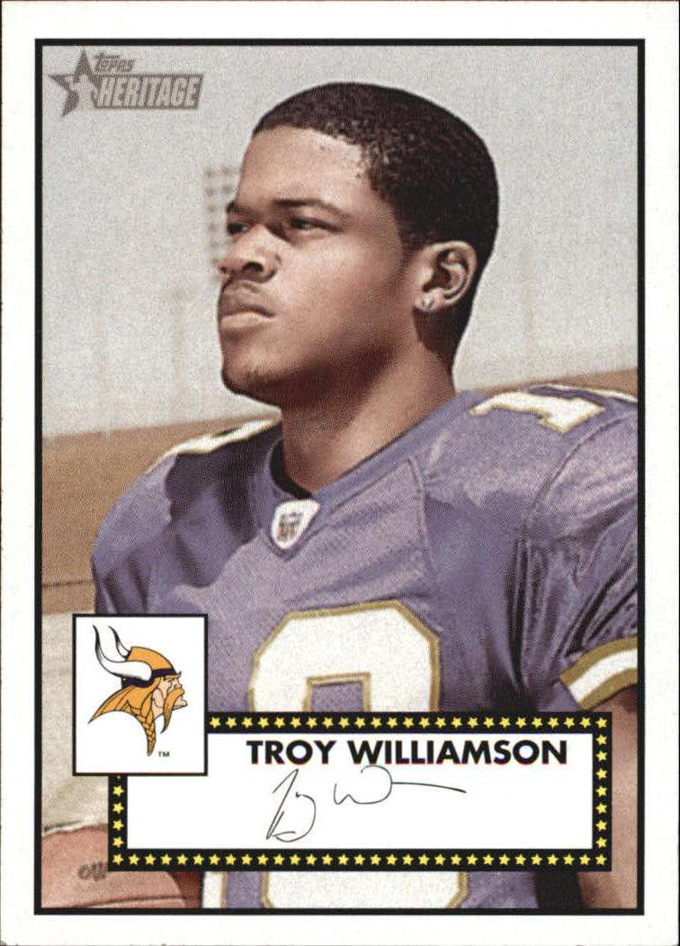 2006 Topps Heritage #216 Troy Williamson