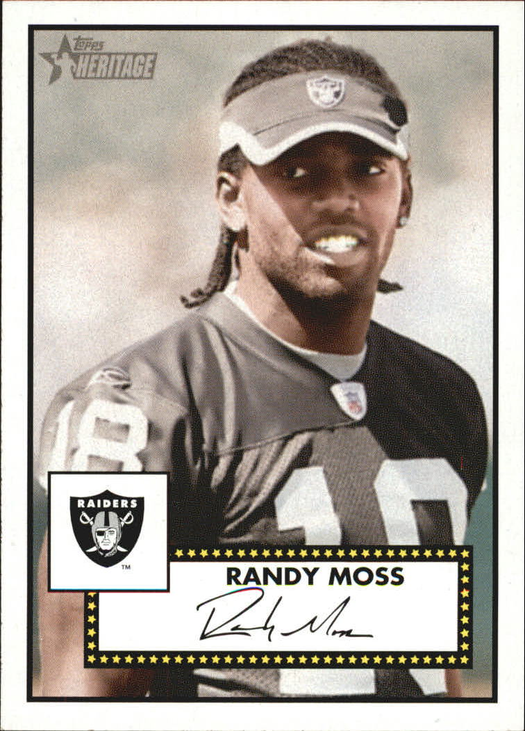 2006 Topps Heritage #270 Randy Moss