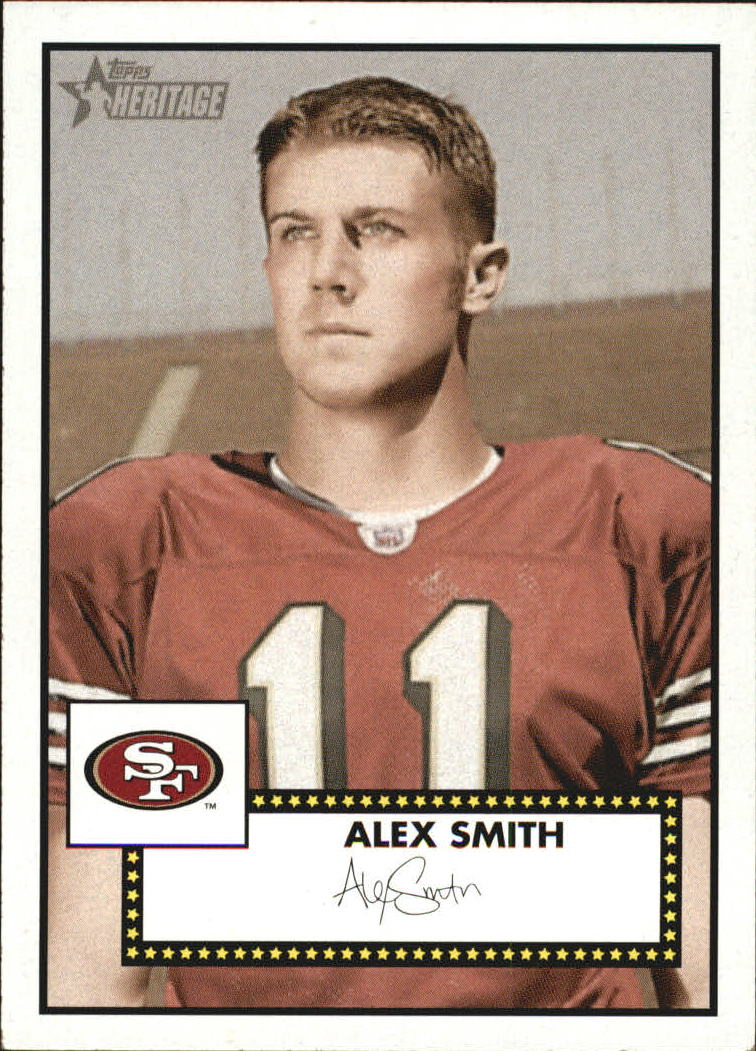 2006 Topps Heritage #285 Alex Smith QB