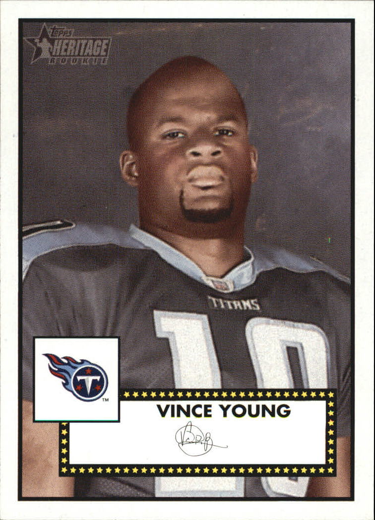 2006 Topps Heritage #320 Vince Young SP RC