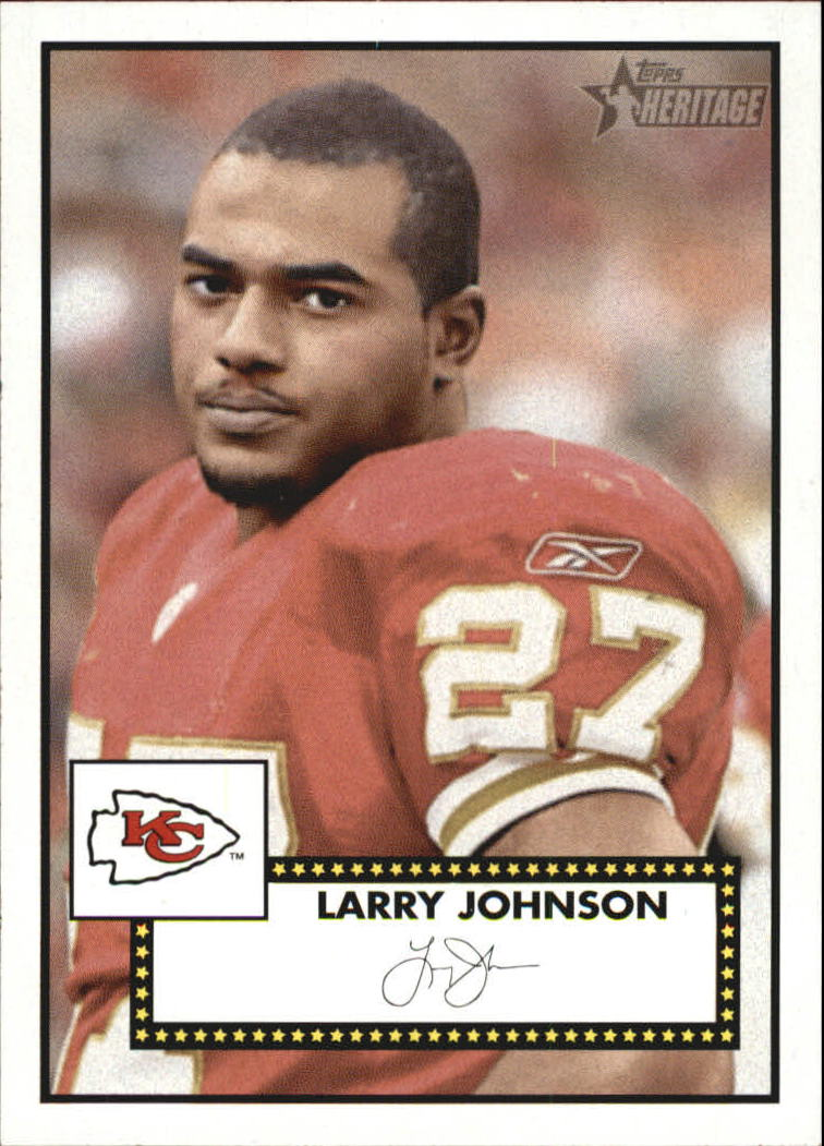 2006 Topps Heritage #327 Larry Johnson SP