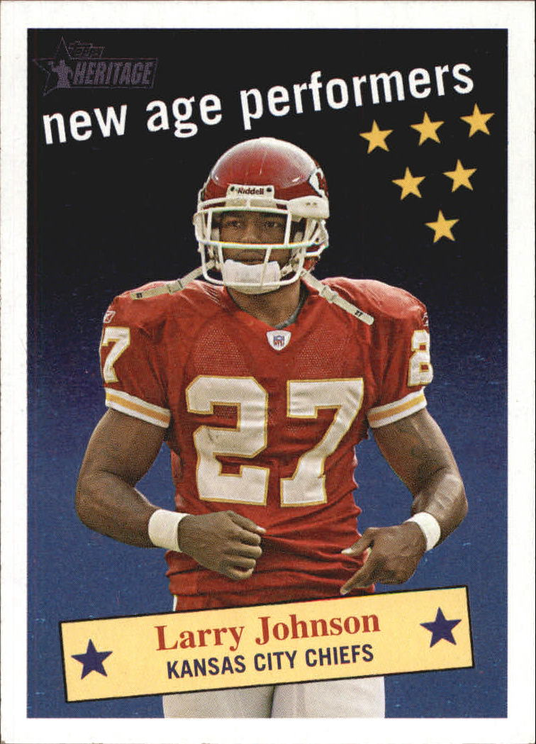 2006 Topps Heritage New Age Performers #NAP8 Larry Johnson