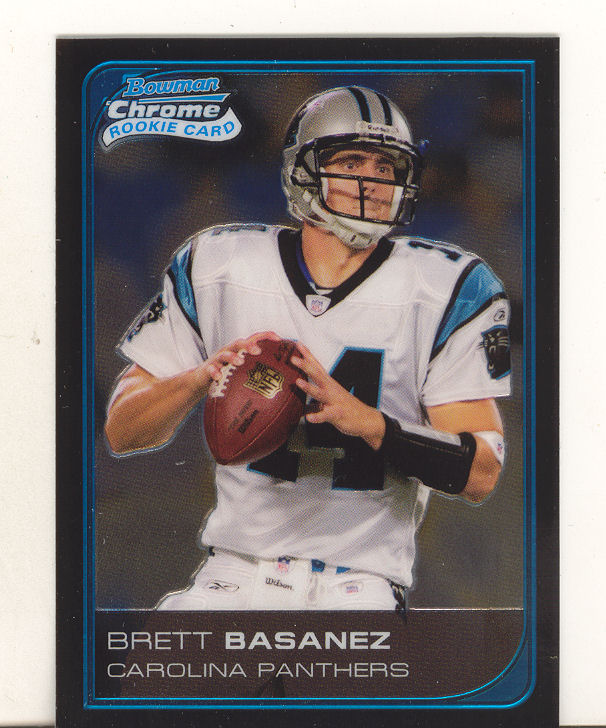 2006 Bowman Chrome #93 Brett Basanez RC
