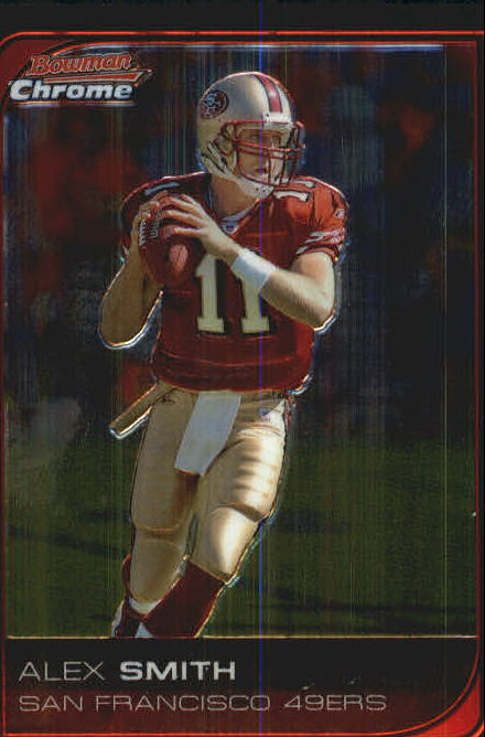 2006 Bowman Chrome #210 Alex Smith QB