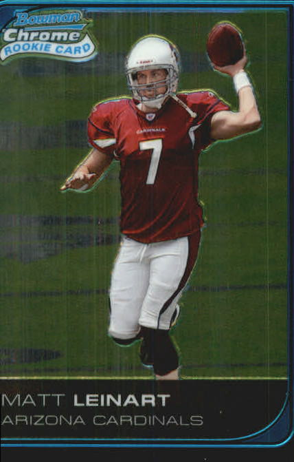 2006 Bowman Chrome #224 Matt Leinart RC