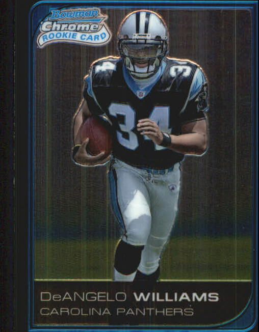 2006 Bowman Chrome #228 DeAngelo Williams RC