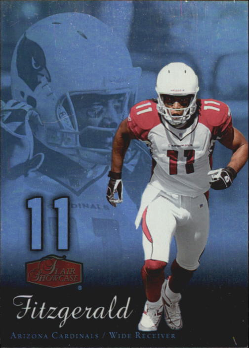 2006 Flair Showcase #2 Larry Fitzgerald