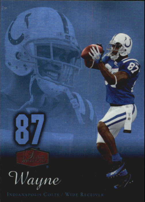 2006 Flair Showcase #43 Reggie Wayne