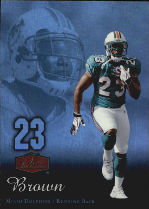 2006 Flair Showcase #52 Ronnie Brown