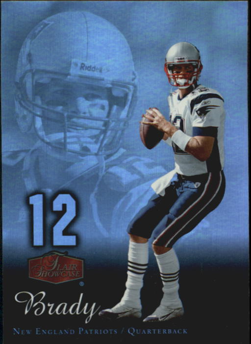 2006 Flair Showcase #57 Tom Brady