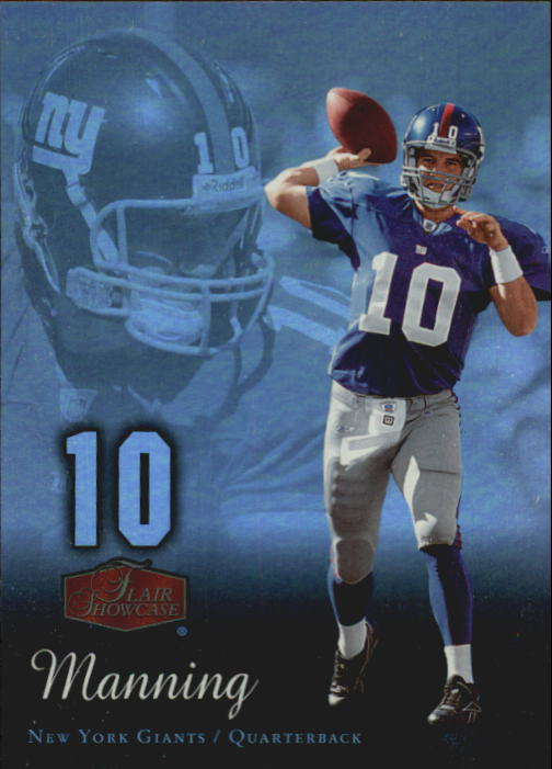 2006 Flair Showcase #63 Eli Manning