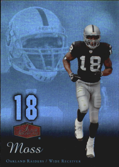 2006 Flair Showcase #72 Randy Moss