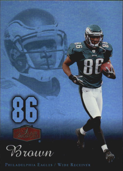 2006 Flair Showcase #76 Reggie Brown