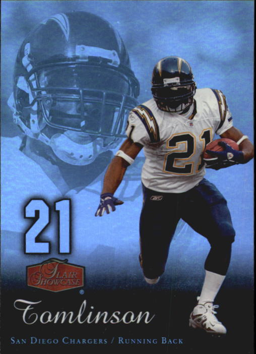 2006 Flair Showcase #81 LaDainian Tomlinson