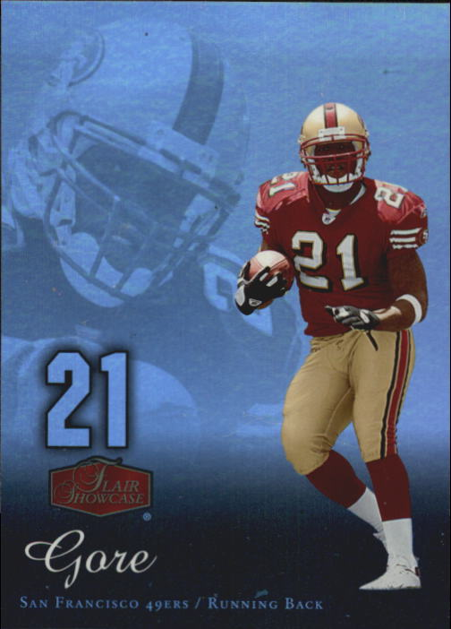 2006 Flair Showcase #84 Frank Gore