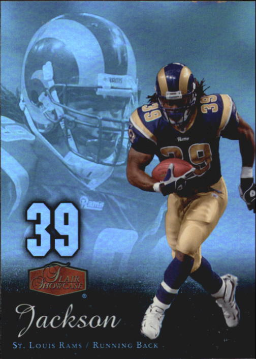 2006 Flair Showcase #90 Steven Jackson