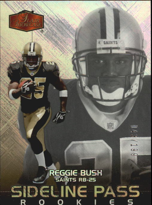 2006 Flair Showcase #232 Reggie Bush RC