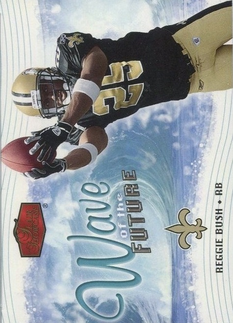 2006 Flair Showcase Wave of the Future #WOTF22 Reggie Bush