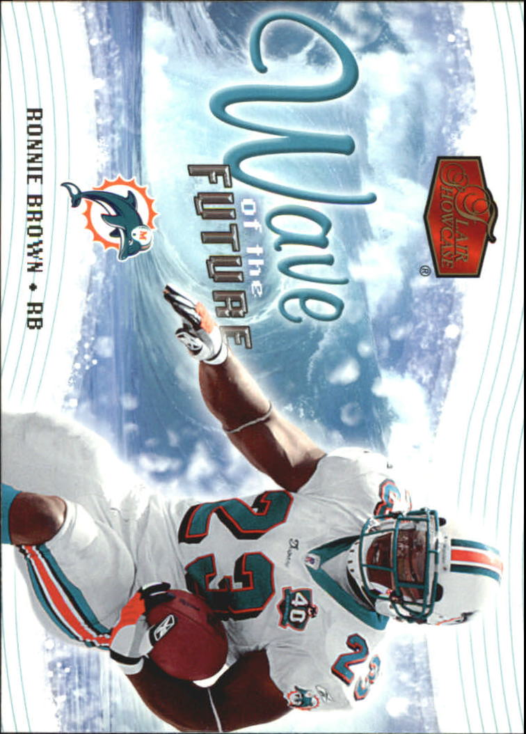 2006 Flair Showcase Wave of the Future #WOTF23 Ronnie Brown