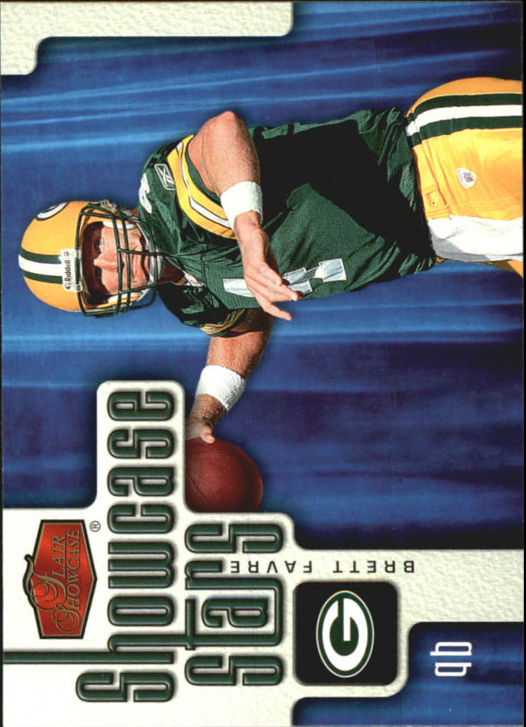 2006 Flair Showcase Showcase Stars #SS2 Brett Favre