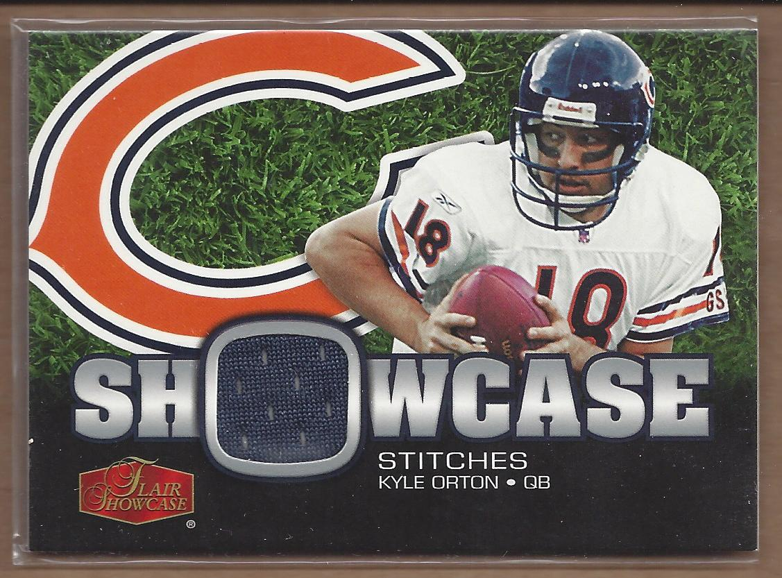 2006 Flair Showcase Showcase Stitches Jersey #SHSKO Kyle Orton