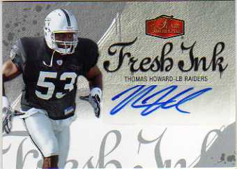 2006 Flair Showcase Fresh Ink #FITH Thomas Howard
