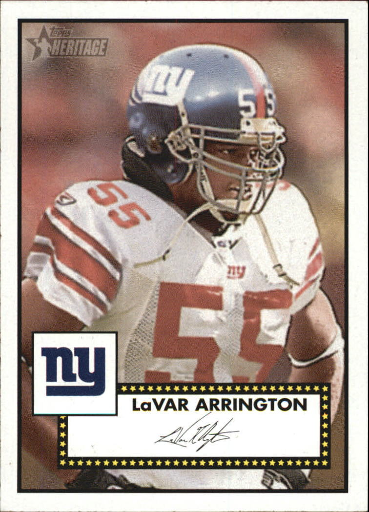 2006 Topps Heritage Black Backs #1 LaVar Arrington