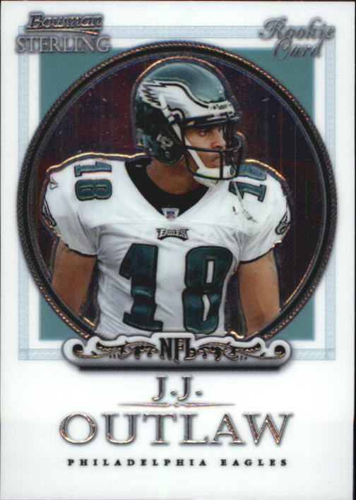 2006 Bowman Sterling #28 J.J. Outlaw RC