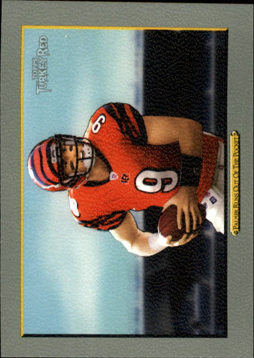 2006 Topps Turkey Red #145 (Carson) Palmer Runs/Out Of The Pocket/(checklist back)