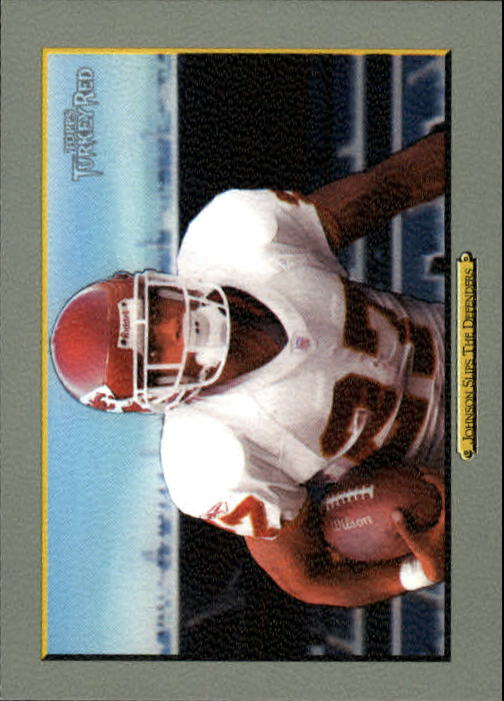 2006 Topps Turkey Red #149 (Larry) Johnson Slips/The Defenders/(checklist back)