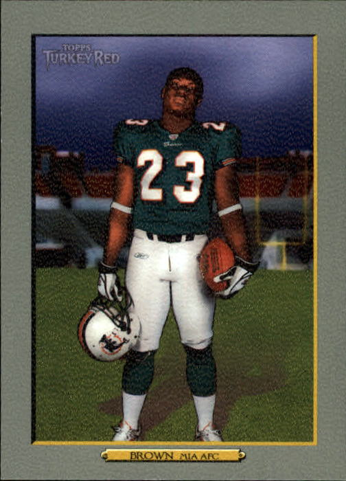 2006 Topps Turkey Red #254 Ronnie Brown