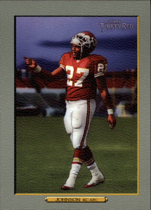 2006 Topps Turkey Red #308A Larry Johnson/(orange sky)