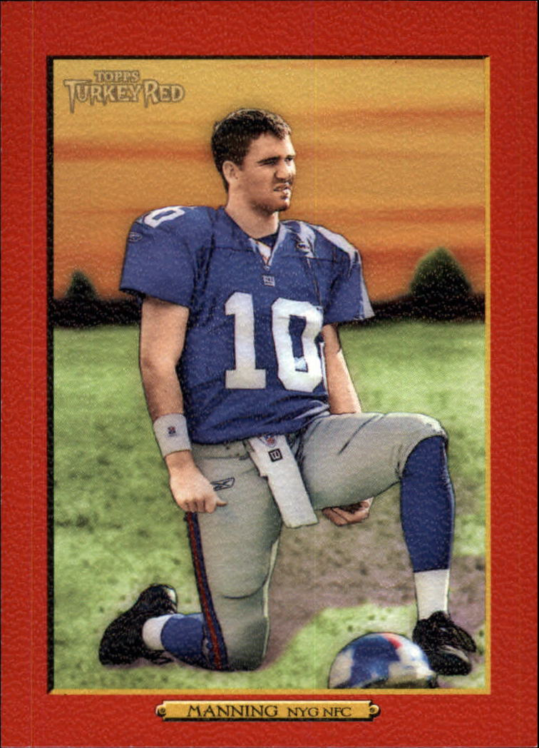 2006 Topps Turkey Red Red #294 Eli Manning